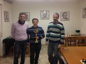 Il vincitore Mimmo Verga