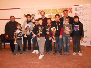 I partecipanti dell'Open Giovanile
