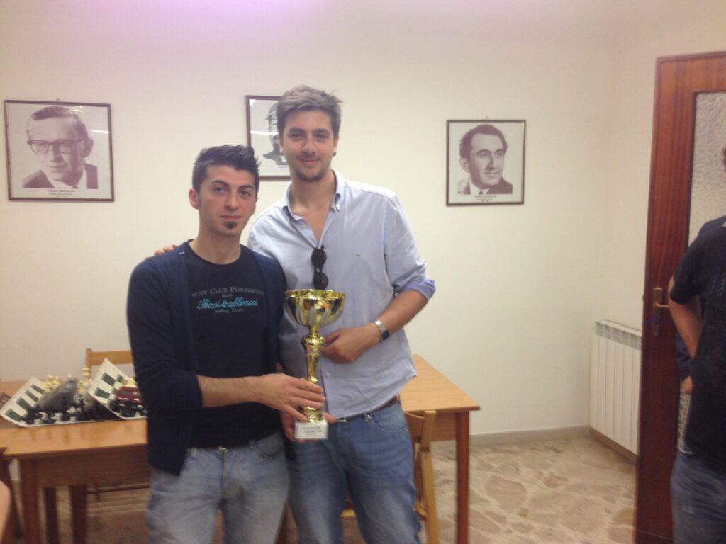 Francesco Bentivegna premiato da Andrea Spinella