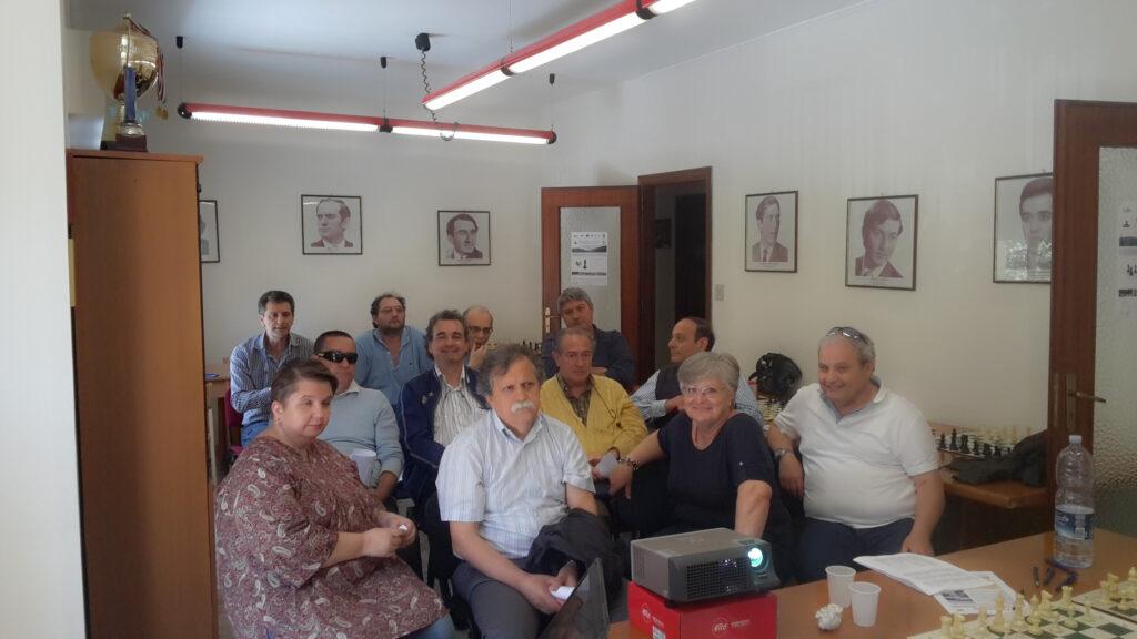 Gli arbitri durante il seminario