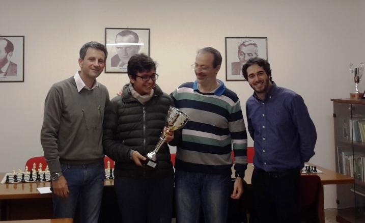 Marco Tricoli premiato