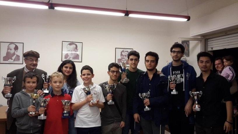 Tutti i premiati del 9° Chess Storm