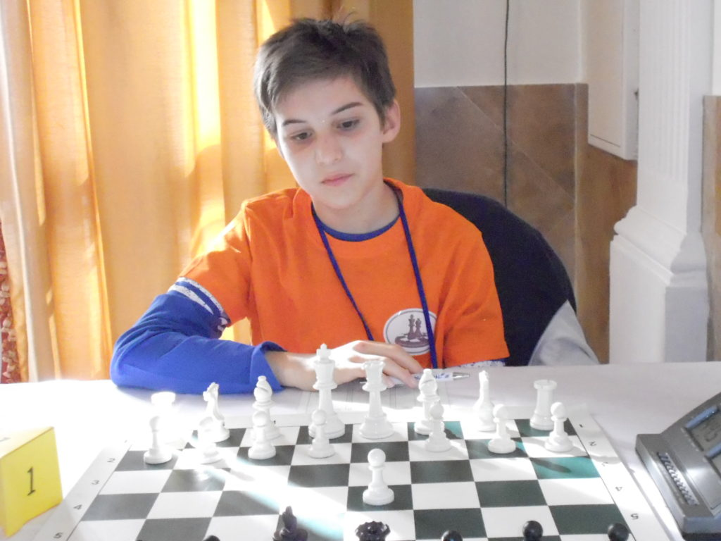 Andrea Pennica Campione regionale U12
